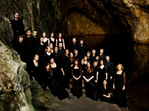 Schola Cantorum in the mines on Nesodden, Norway